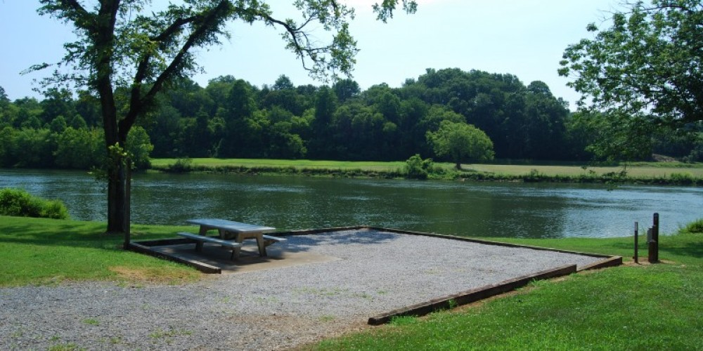 Tent camping area – TVA