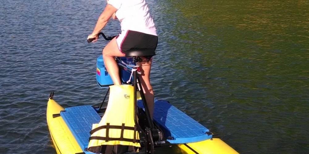 Hydro-biking on Norris Lake – John Marquis