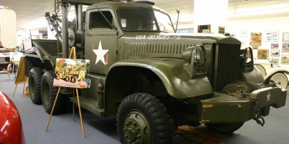 W-45 Military Truck used in WWII