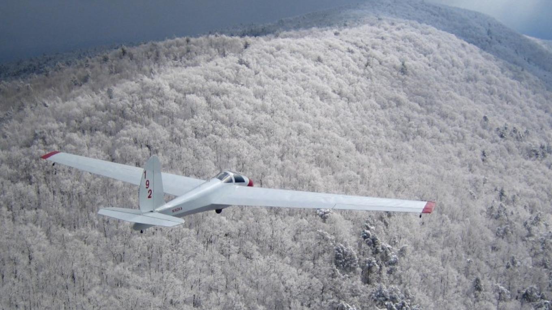 Winter over Bean Mountain ridge – Leo Benetti-Longhini