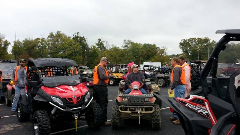 ATV organized rides