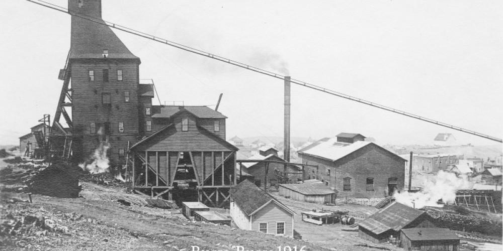 Burra Burra mine circa 1916 – Tennessee Copper Company