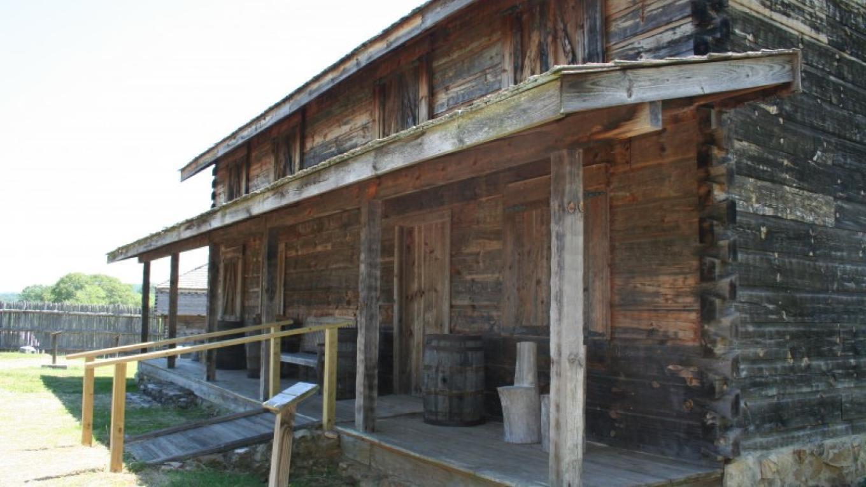 barracks at the fort – Pam May