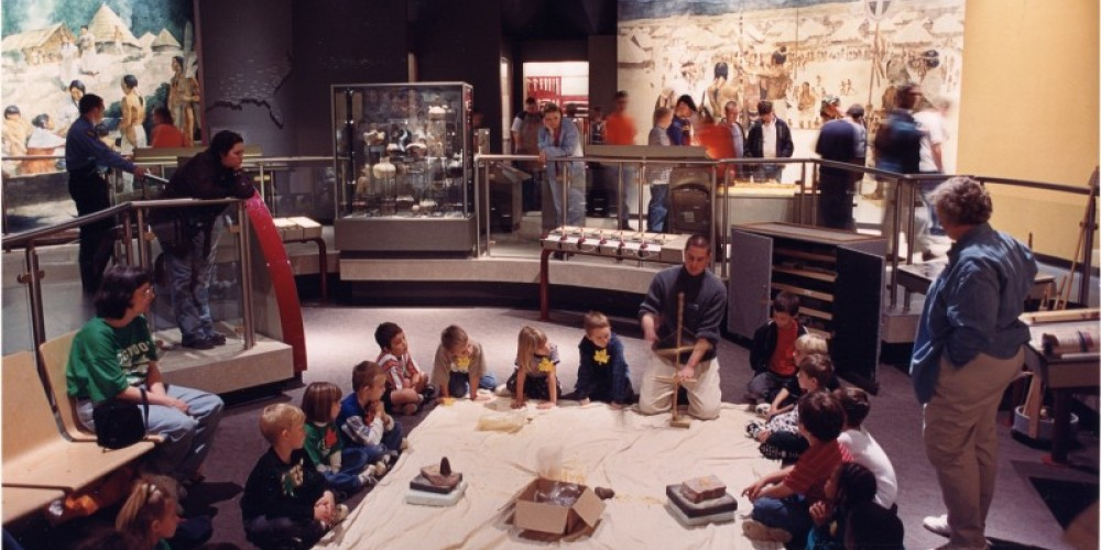Permanent exhibit - Archaeology and the Native Peoples of Tennessee