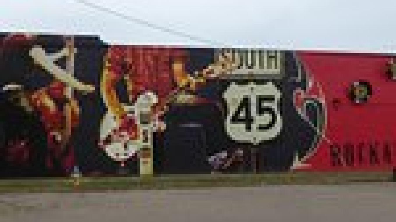 Rockabilly Highway Mural – KV1234