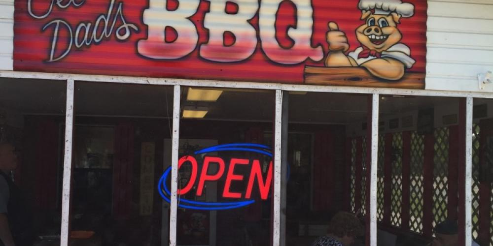 Ole Dad's Barbeque is located about 25 miles north of the Rocket City in Hazel Green, Alabama. – Ole Dad's Barbeque