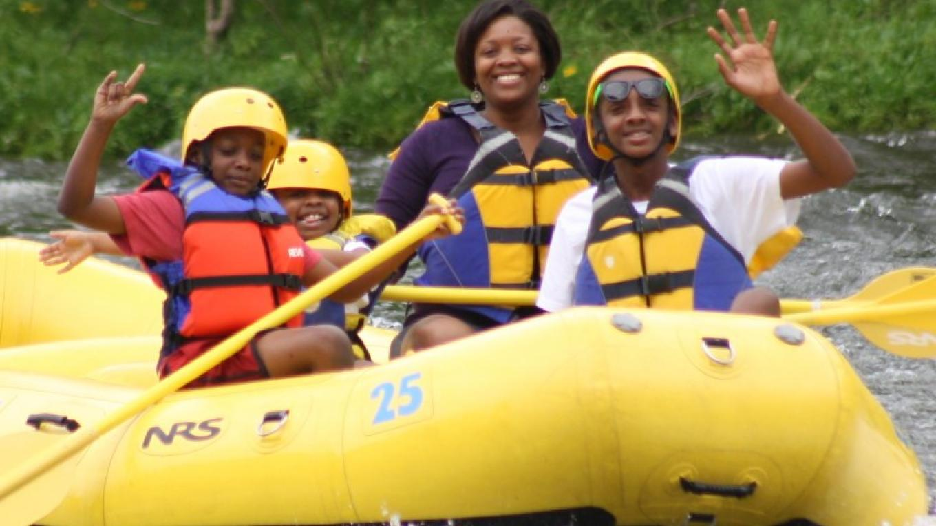 Nothing but good times and great memories for those who bring their family Rafting in the Smokies