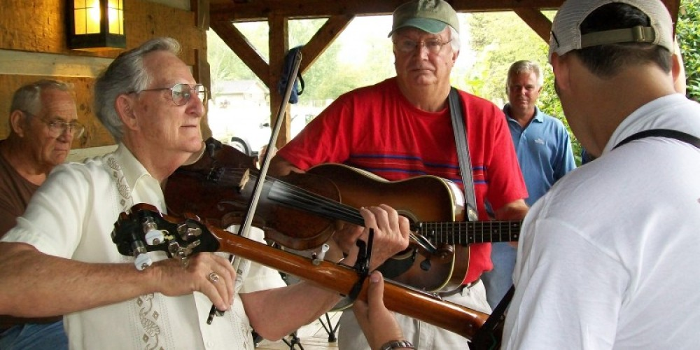 Fiddlin and Pickin – Townsend Visitors Center