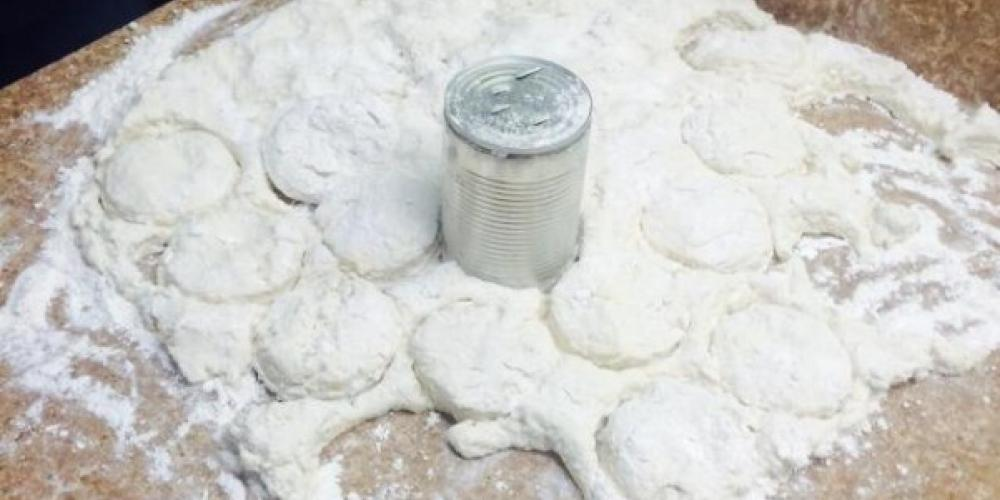 Biscuits are made from scratch in the kitchen – Dover Grille