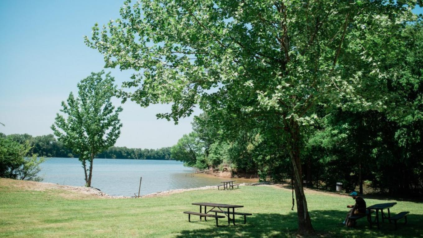 Mousetail Landing State Park has 25 picnic tables with grills located throughout the park. – Cari Griffith