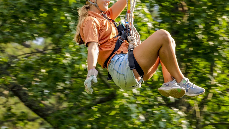 Screamin' Eagle Zipline at Lake Guntersville – Scott Baker