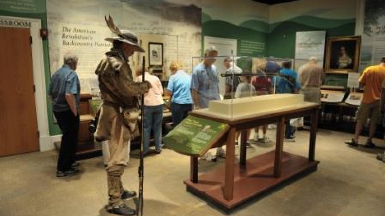 Davy Crockett's first gun is a popular attraction of the museum. – Dan MacDonald