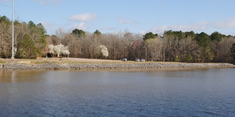 Boat-Launch area on the North Side – James Gibson