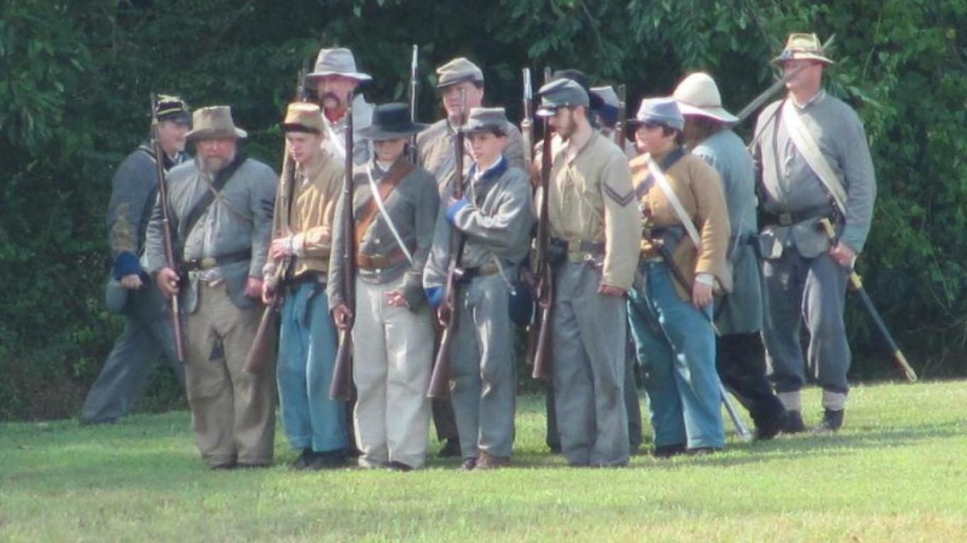 Civil War Re-enactment Battle – Bob Eldridge