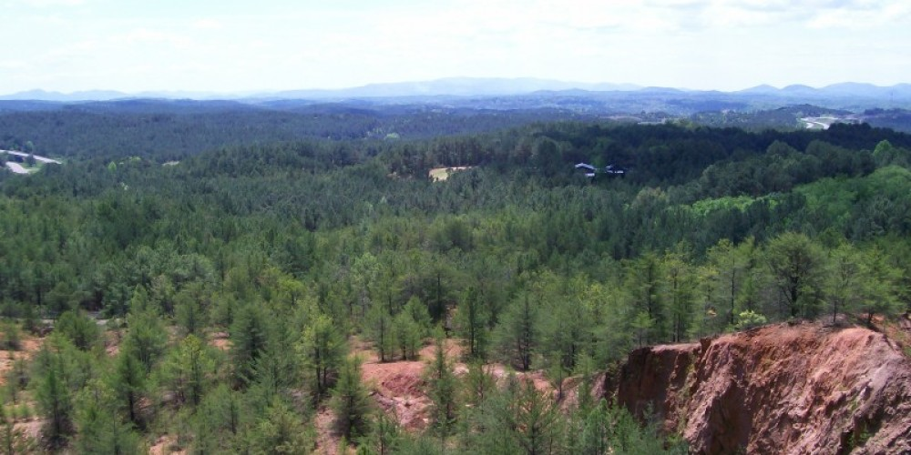 View from the museum overlook looking south. – Ken Rush