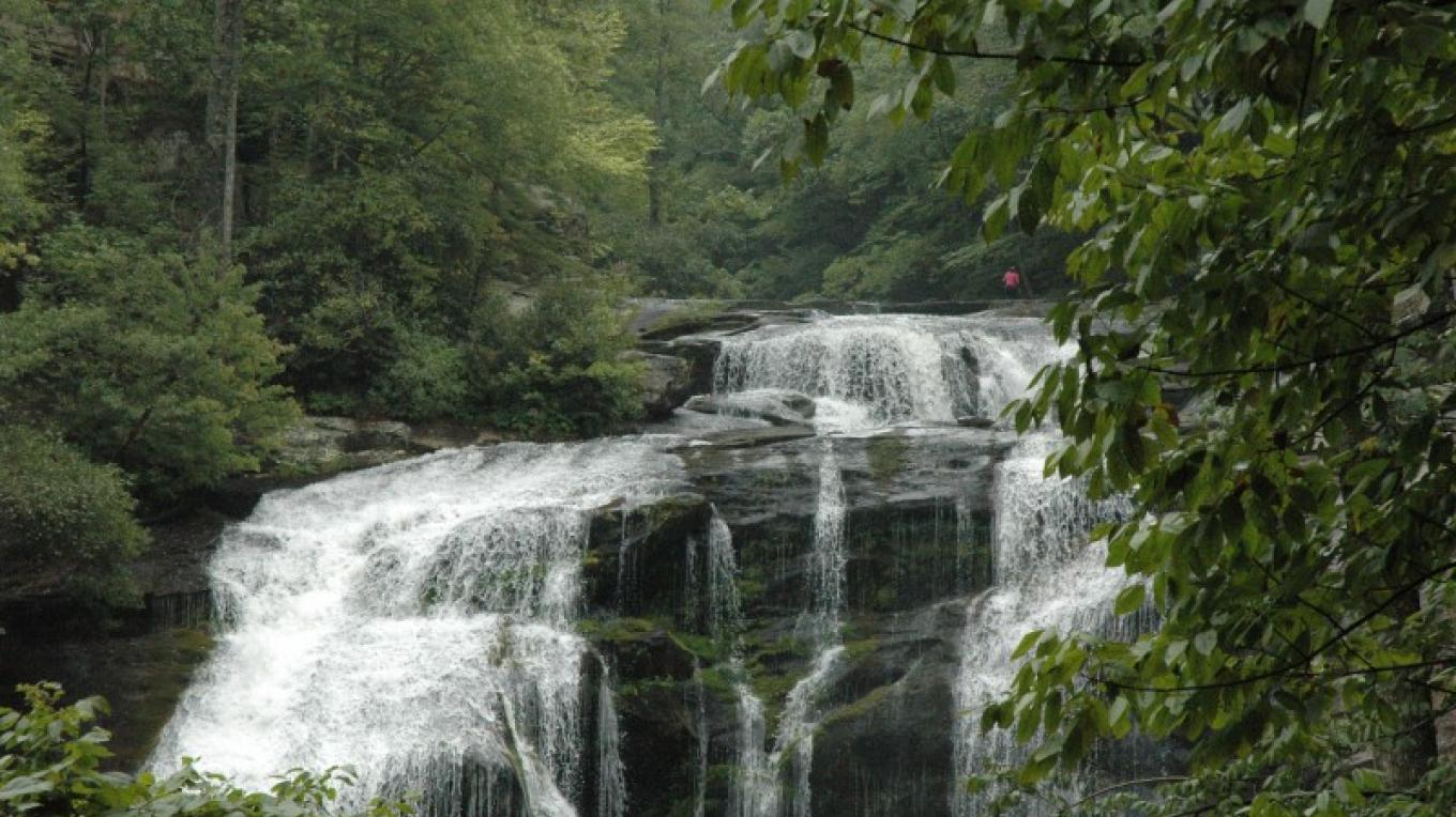 Top of the falls – Jim Caldwell