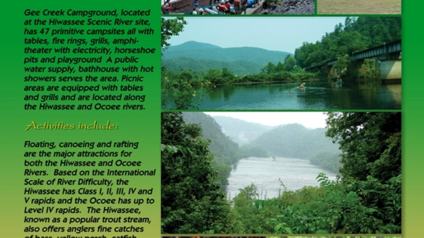Spotlight on the Hiwassee and Ocoee Rivers State Park