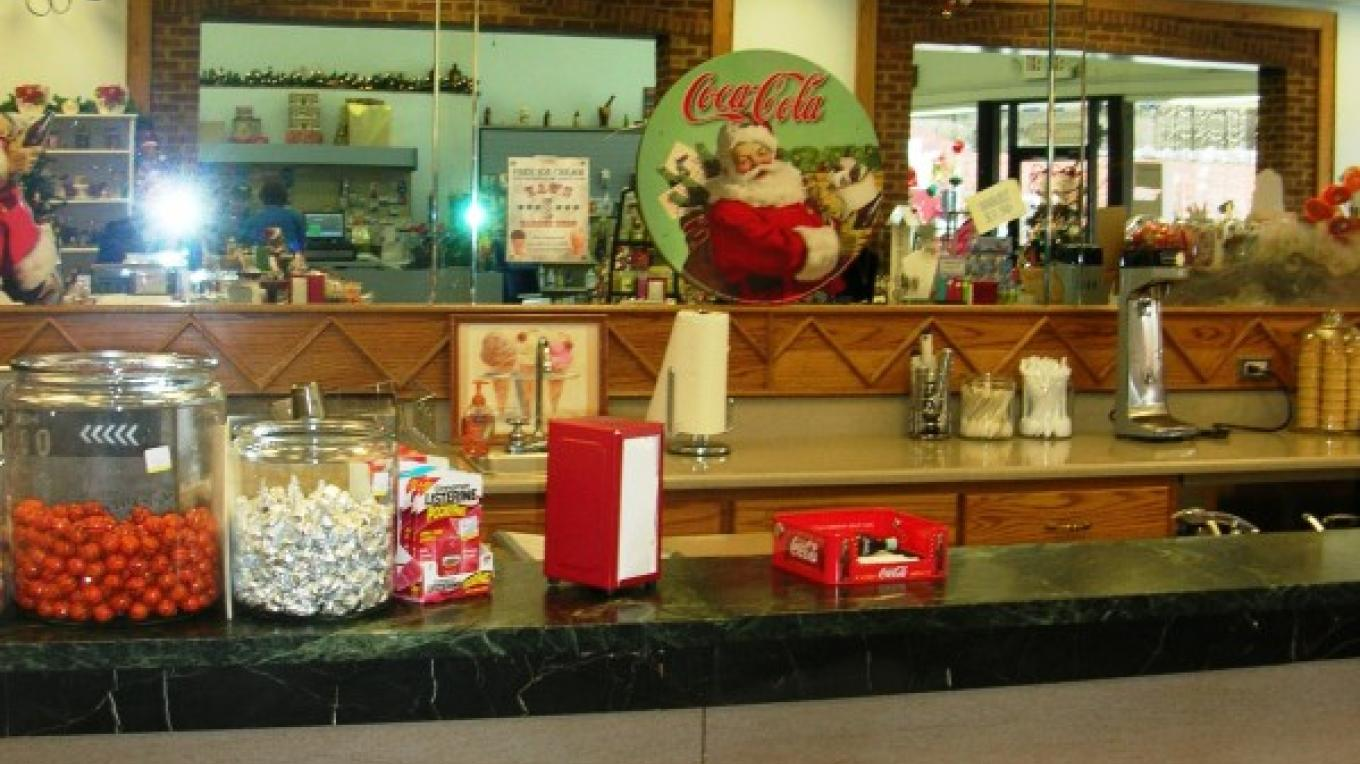 Live & Let Live Soda Fountain – Pam May