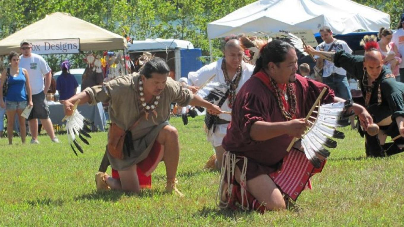 Cherokee Eagle Dance, Fall Festival – Bob Eldridge