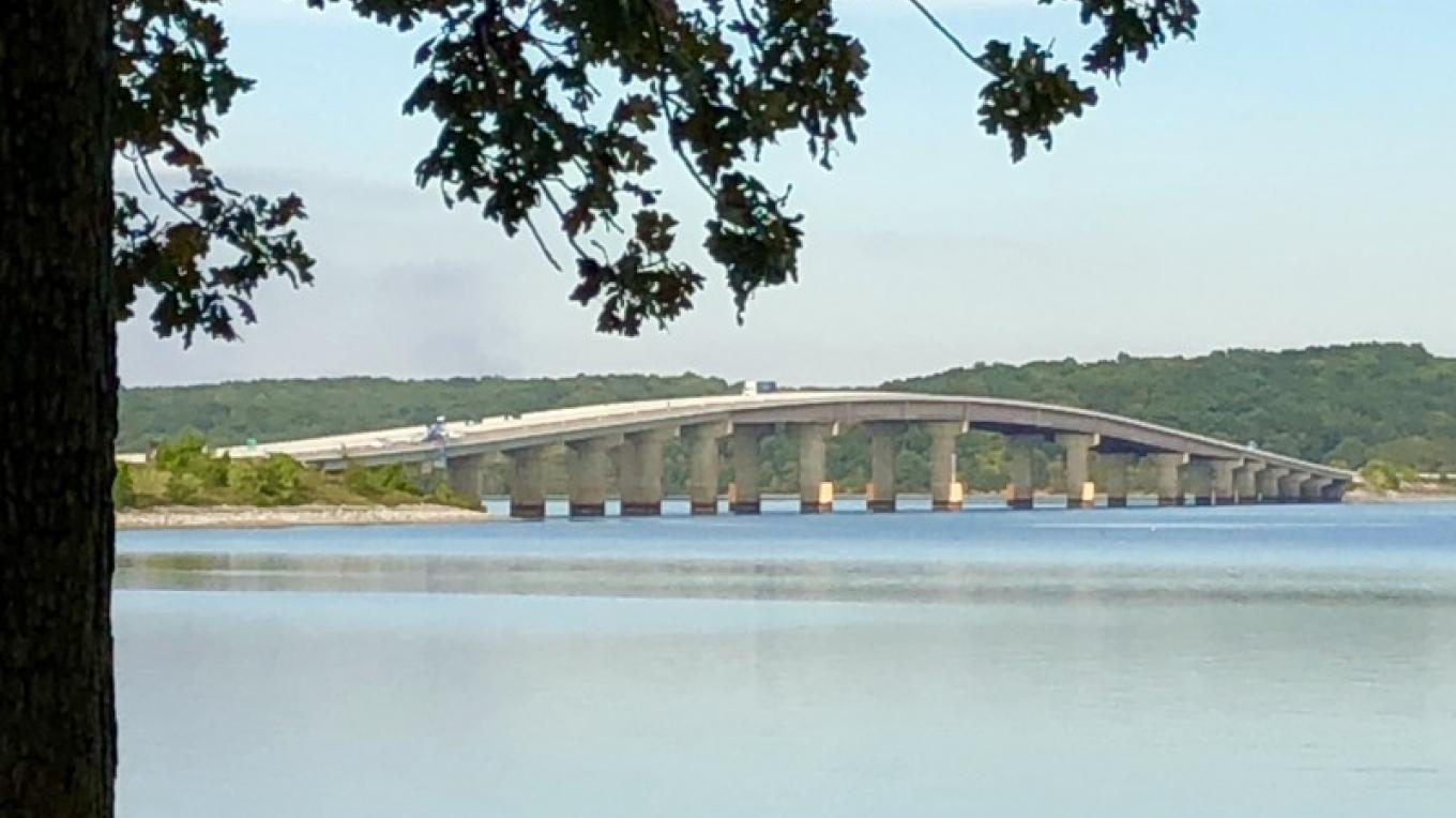 The Ned Ray McWherter Bridge connects Henry and Stewart counties. – Susan Jones