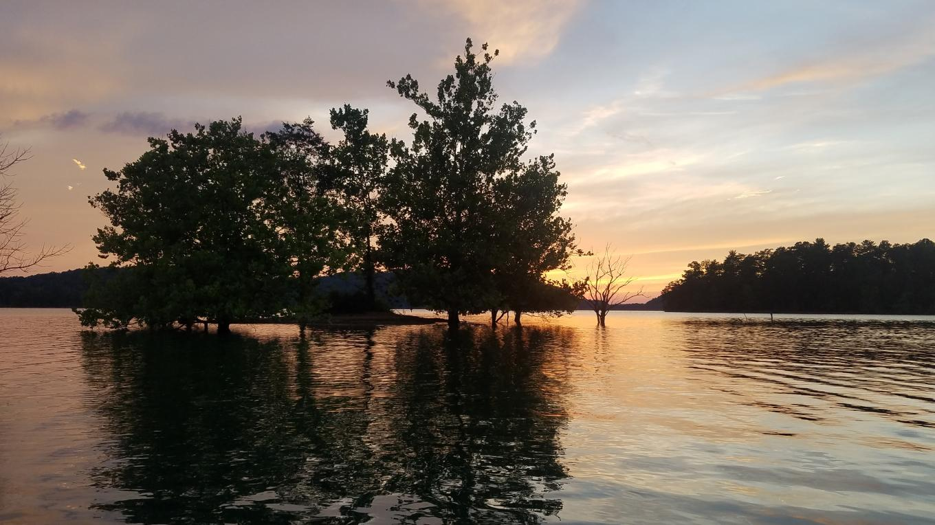There is beauty here capable of melting away anyone's inability to experience awe. Saddle up your boat, then ride it off into a sunset -- or a sunrise. The scenery's embrace will reflexively strike up your sense of wonder.