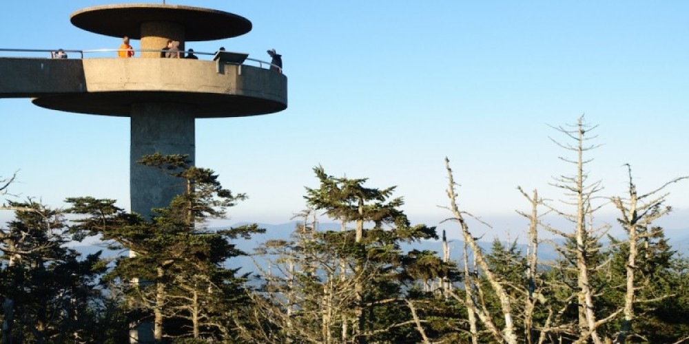 Clingman's Dome observation tower – Jeffrey M. Frank