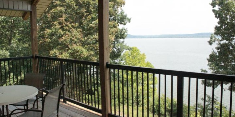 Imagine your morning coffee on this deck. – Photo from NBF State Park