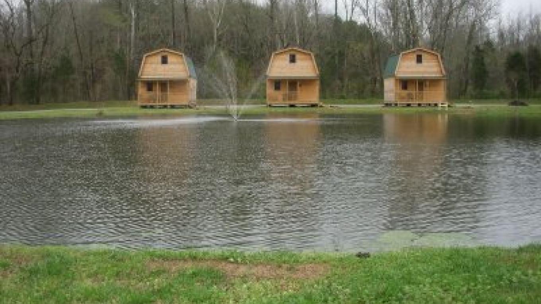 Three Wilderness Cabins