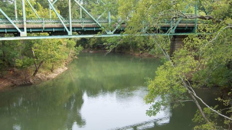 Overlooking South Chickamauga Creek. – Brian Smith