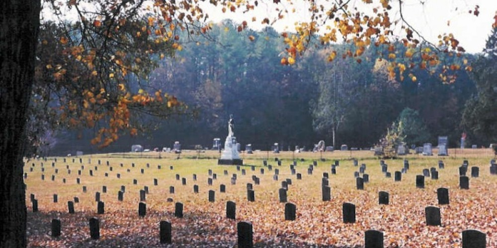 Confederate Cemetery inside West Hill Cemetery – Dalton CVB