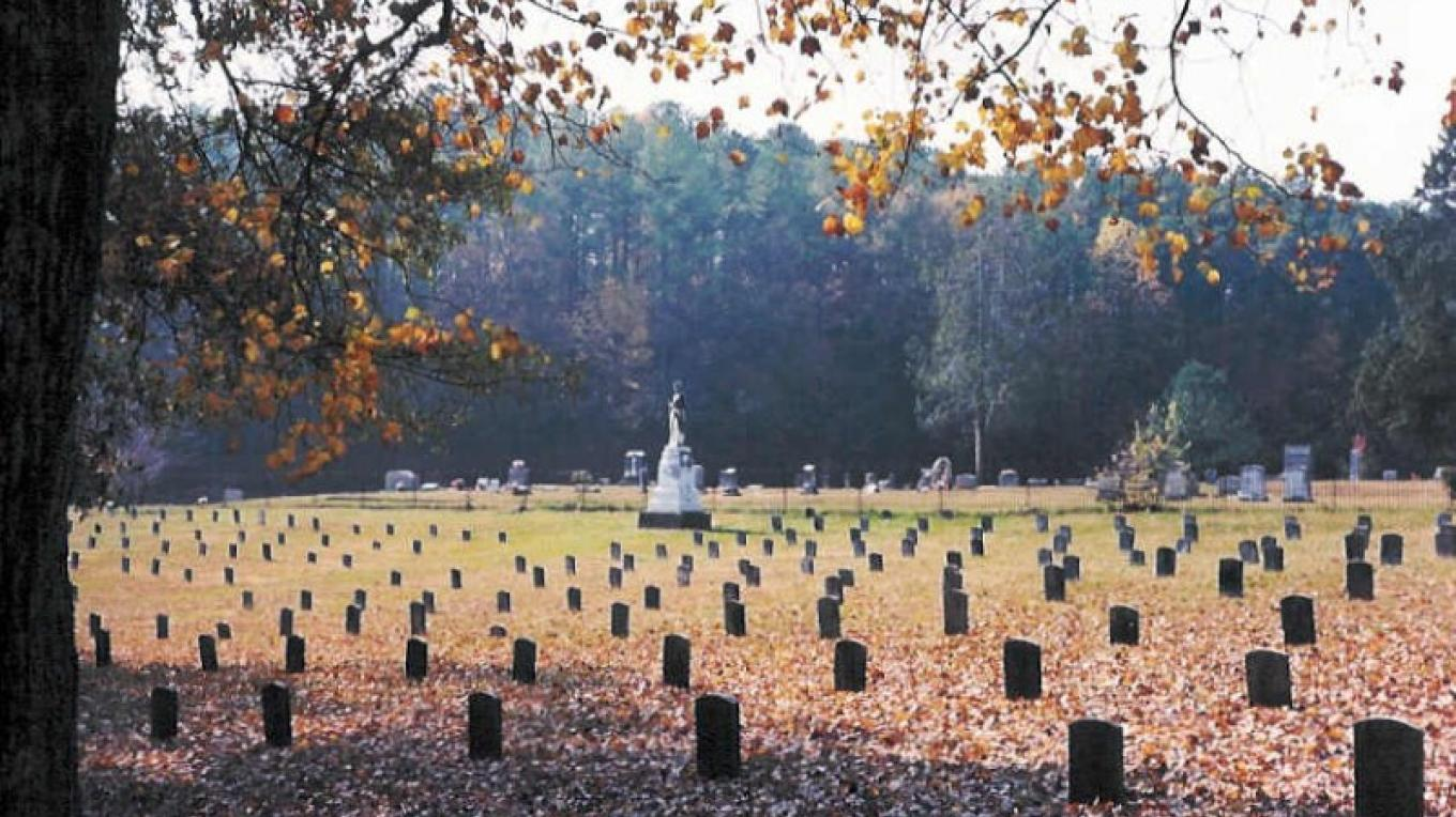 Confederate Cemetery inside West Hill Cemetery – Dalton CVB