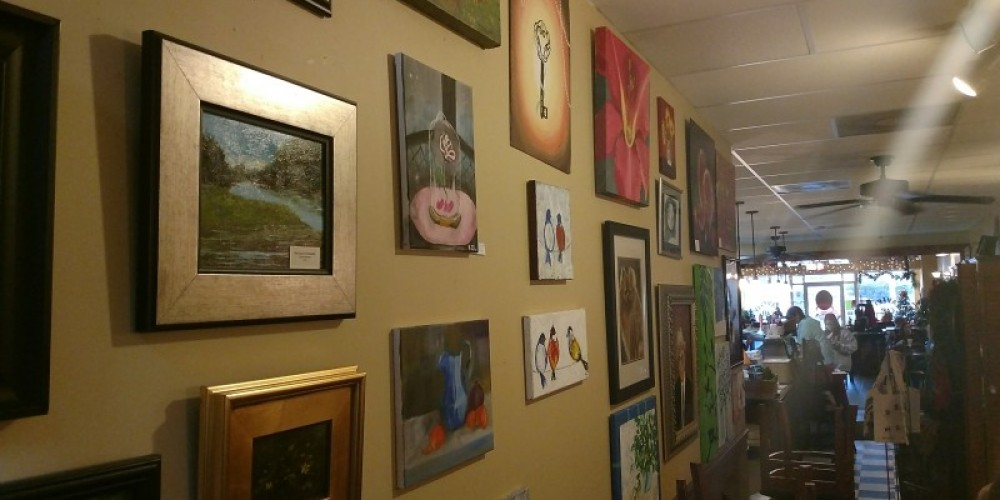 Purchase a piece of local art to take home. – Andrew Wheatley