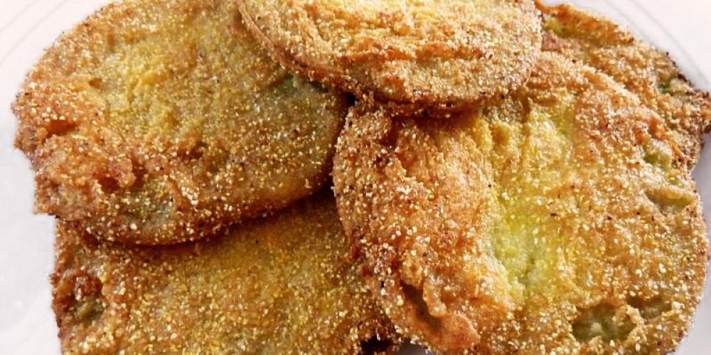 Fried Green Tomatoes – Dover Grille