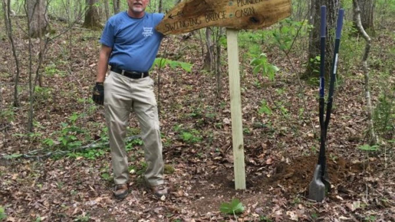 Renovating Trail Sign – Toney Mobley