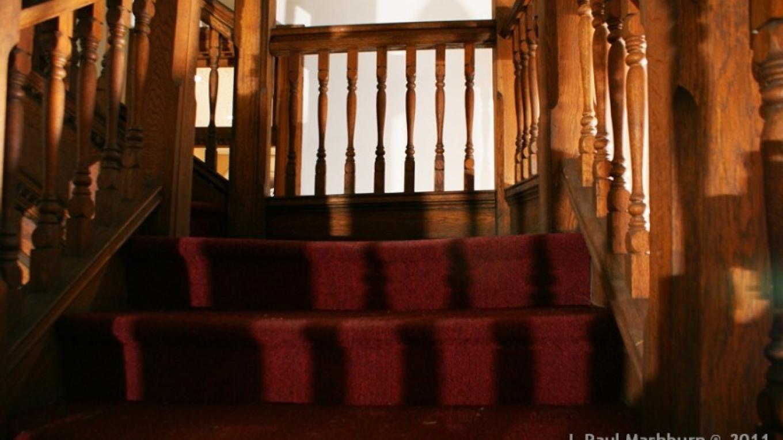 Temperence Building - Original Interior Woodwork, Harriman, TN