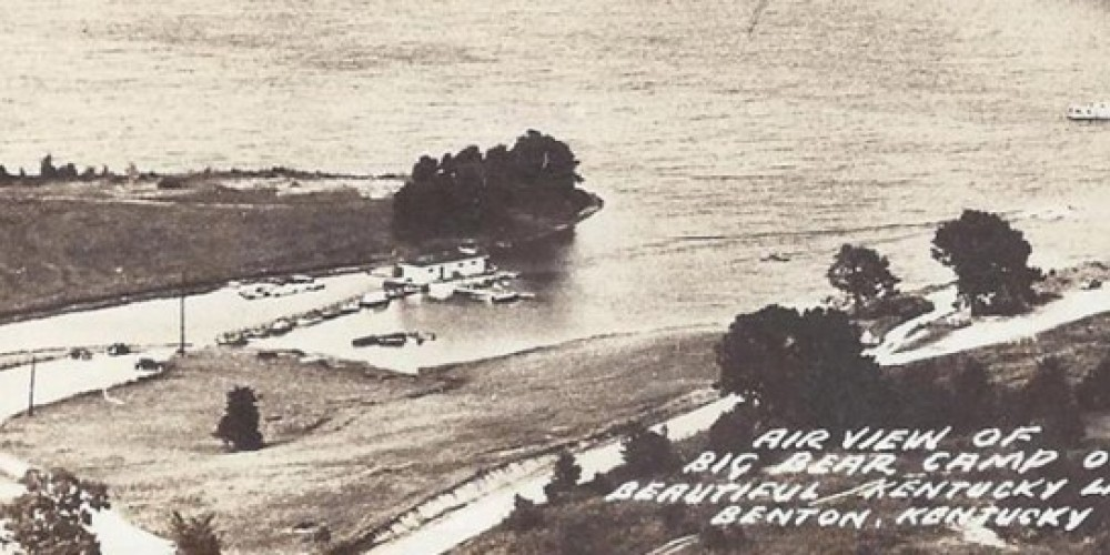 Resort Aerial in late 1940's – Archives