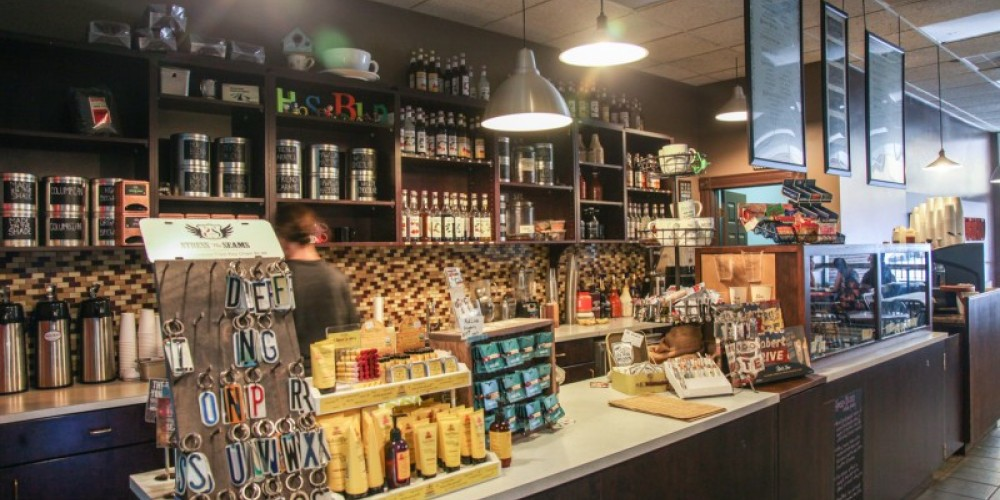Front counter area at House Blend – Ande Truman