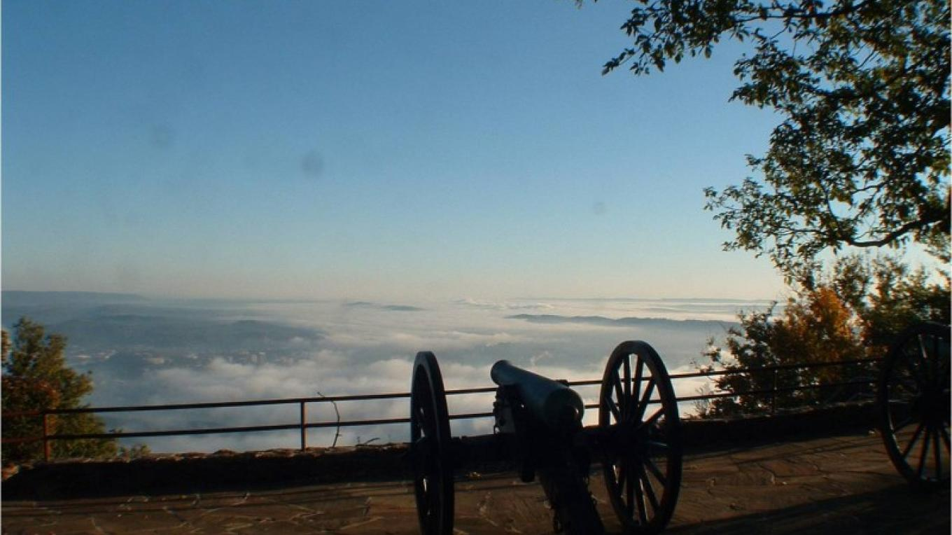 View from Lookout Mountain, TN. – National Park Service