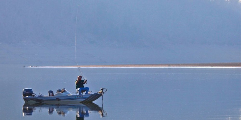 Bass fishing at Dutch Bottoms – michael sledjeski