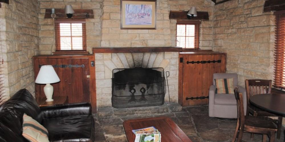 Rock Cabin interior. – Gary Mathews