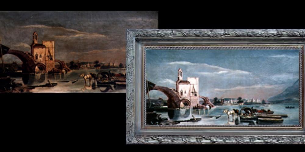 Fine Art restoration available.