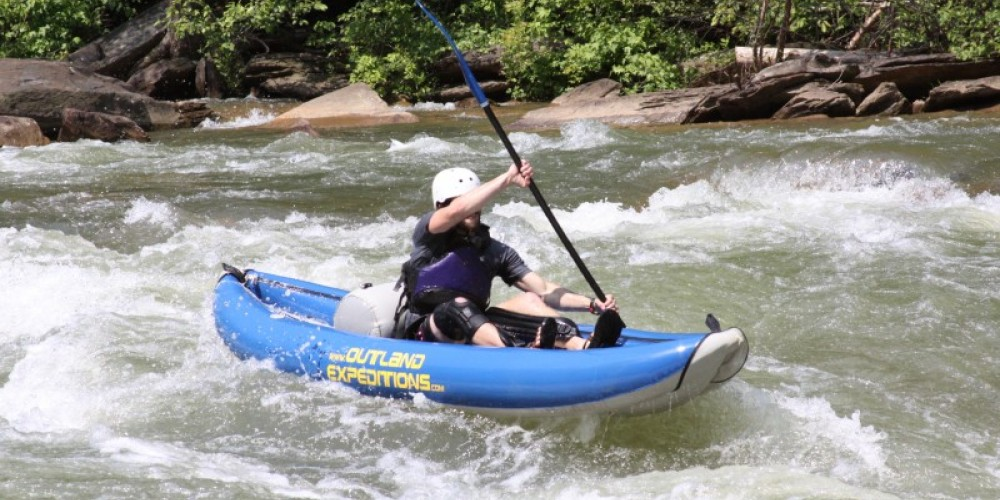 We offer funyak trips down the Ocoee River, call 1-800-827-1442