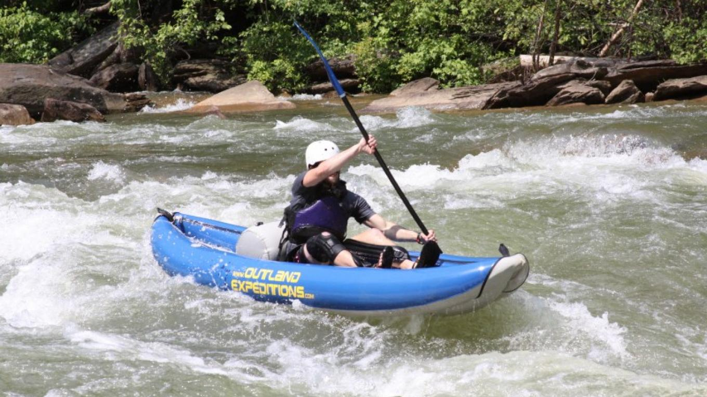 We offer funyak trips down the Ocoee River, call 1-800-827-1442