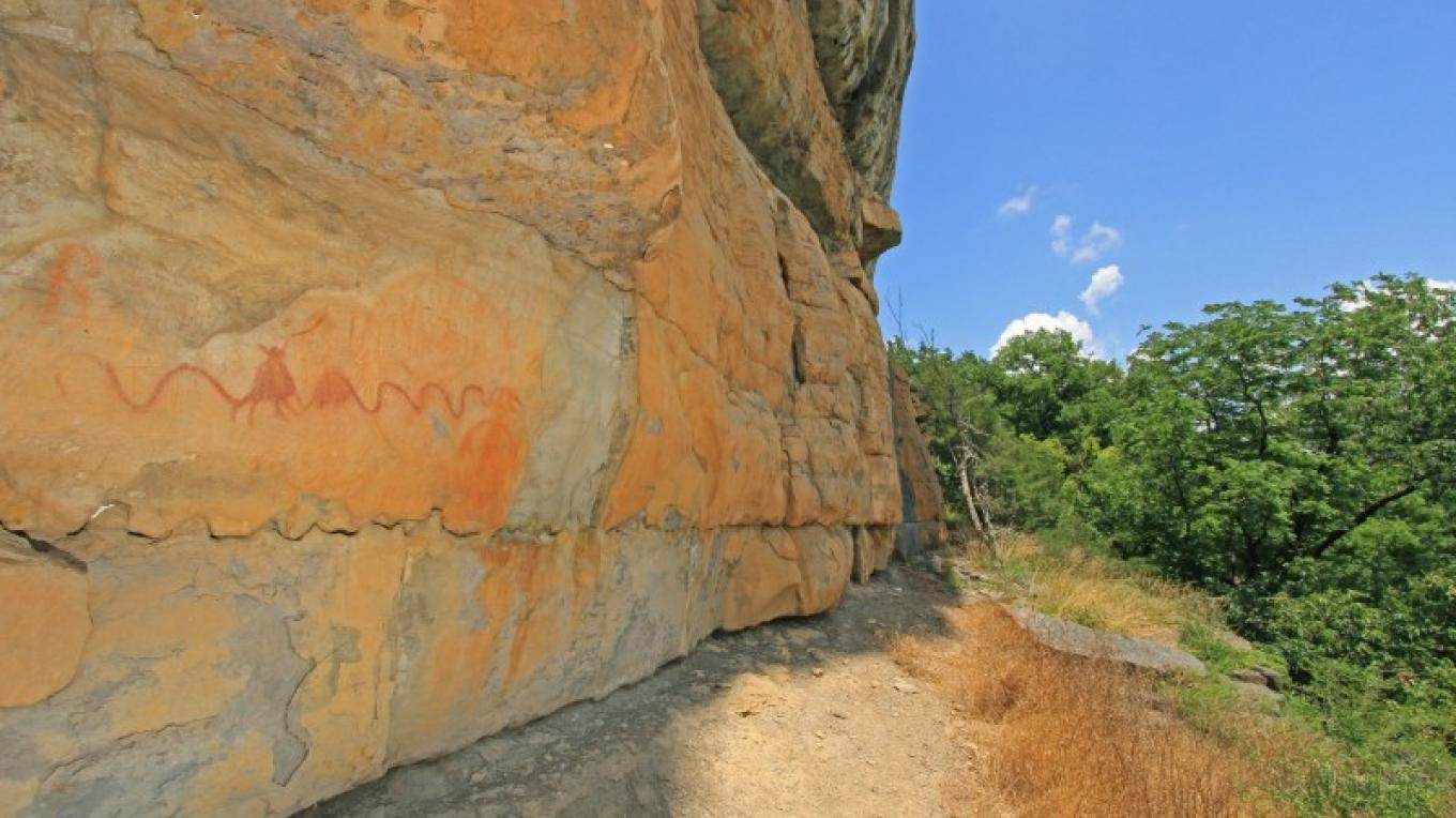 Hieroglyphics at Wheeler Dam – TVA
