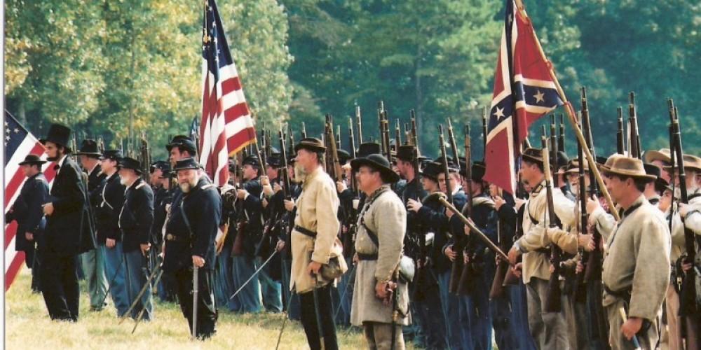 Battle of Tunnel Hill Civil War Reenactment