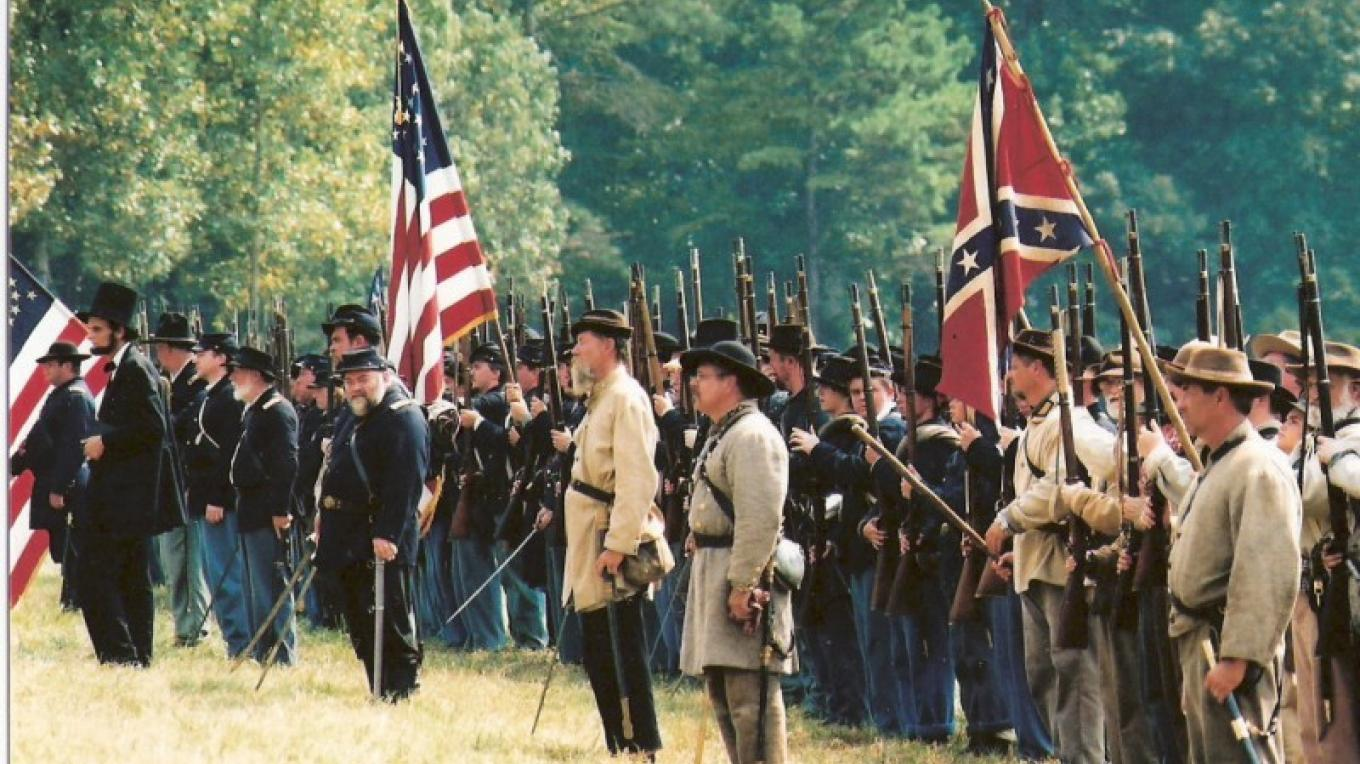 Battle of Tunnel Hill Civil War Reenactment