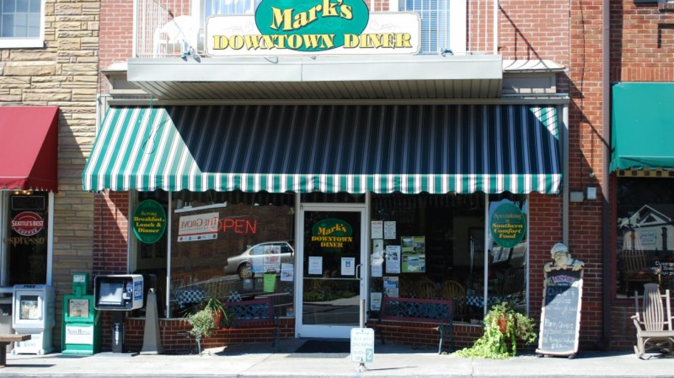 Mark's Downtown Diner – Aimee Pangle
