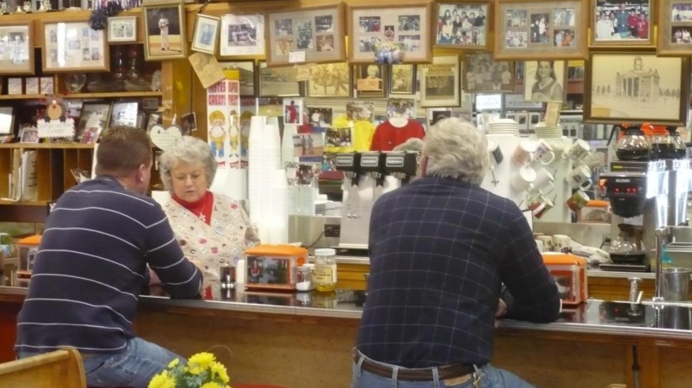 Tinsley Bible Drugstore Soda Fountain - a 100 year old business – Barbara Garrow