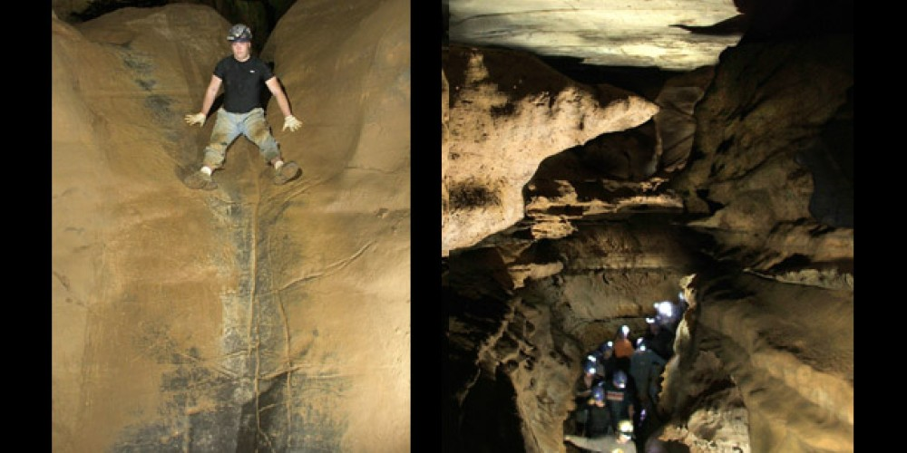 slide – Raccoon mtn Caverns