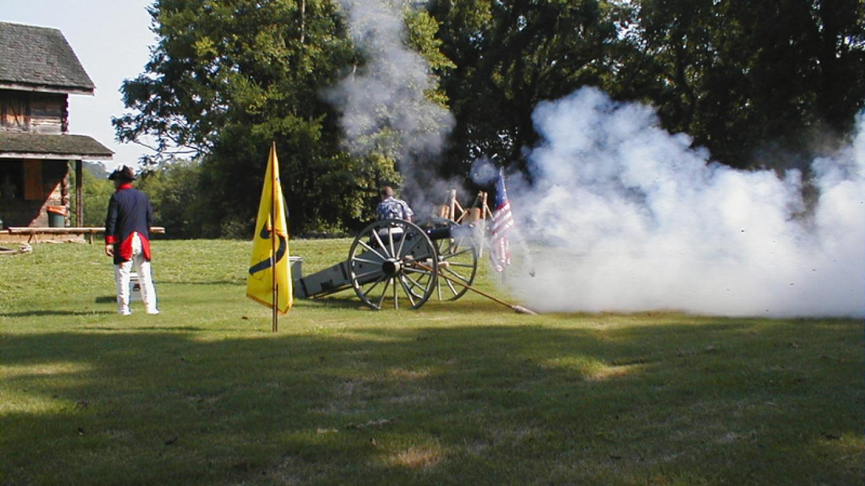Firing the Cannon – Roane County Visitors Bureau